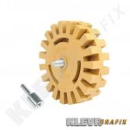 Eraser Wheel Vinyl Removal Drill Attachment